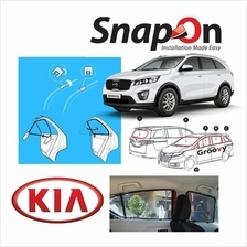 Groovy KIA SUV SNAP-ON 4.0 (MAGNET) Car Sunshades