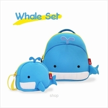 [Combo Set] NOHOO Whale Back Pack + Sling Bag
