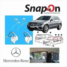 Groovy Mercedes SUV SNAP-ON 3.0 (MAGNET) Car Sunshades
