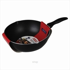 ASD 28cm Teflon (USA) Non-Stick Deep Frypan with Pouring Spouts - HP8228D