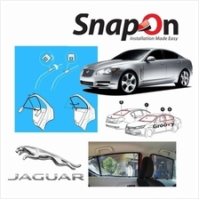 Groovy Jaguar Sedan SNAP-ON 3.0 (MAGNET) Car Sunshades