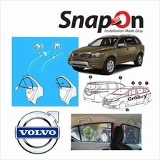 Groovy Volvo SUV SNAP-ON 3.0 (MAGNET) Car Sunshades