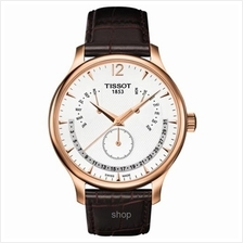 Tissot T063.637.36.037.00 Men T-Classic Tradition Perpetual Calendar Watch