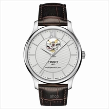 Tissot T063.907.16.038.00 Men T-Classic Tradition Powermatic 80 Open Heart Wat