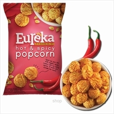 Eureka Popcorn Hot  & Spicy 80g - A45.0010.003