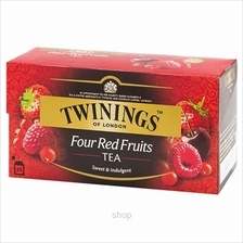Twinings Four Red Fruits Tea (25's x 2g) - A33.0064.011)