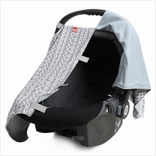 ab New Zealand Infant Car Seat Carrier All-Season Fabric Cover Grey - AB-CFC01)