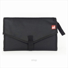 ab New Zealand Portable Diaper Changing Clutch Black - AB-DCC01)