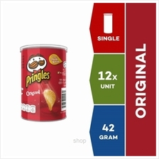 Pringles ON-THE-GO Potato Crisps Original 42g x 12 units