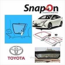 Groovy Toyota HB SNAP-ON Car Sunshades - S Row