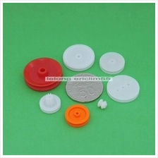 (MPG-7X)  7 Pieces Plastic Gear And Pully For DIY