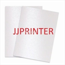 A4 Pearl White Metallic Label Sticker Paper for Inkjet Printer 25 SHTS