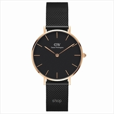 Daniel Wellington Classic Petite Ashfield 32mm Women Watch Rose Gold - 15-DW00)