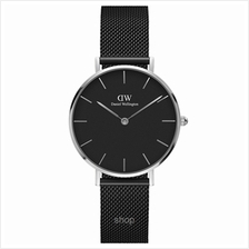 Daniel Wellington Classic Petite Ashfield 32mm Women Watch Silver - 15-DW00100)