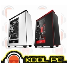 * NZXT H440 - Mid Tower White / Red