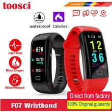 F07 Heart Rate Bracelet Fitness Tracker Smartband Sport Watch