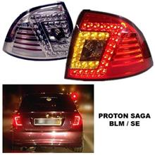 PROTON SAGA BLM, SE, FL, FLX, SV LED Rear Tail Lamp (Red / Smoke)