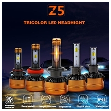 Z5 3color 3000K 4300K 6000K Vehicle LED Headlight Bulb Conversion Kit