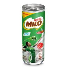 NESTLE MILO Activ-Go Ice Chocolate Malt RTD 24 cans  240ml Per Can)