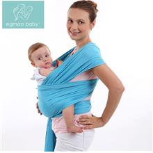 Egmao Baby Sling Carrier Soft Cotton Nursing Cover Baby Wrap