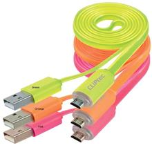 CLiPtec The Light Micro-B Cable with Charging Light (OCC102)