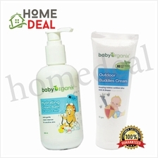 Baby Organix Outdoor Buddies Cream + Baby Organix Hydrating Cream Bath
