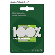 100%PeakPower BATTERY 4S AA / AAA)
