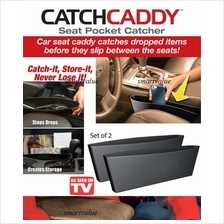 Seat Pocket Catcher: Catch Caddy - As Seen on TV x 2 Pcs in 1 Box