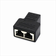 RJ45 splitter 1 Female to 2 Female Ethernet Network Connector Adapter