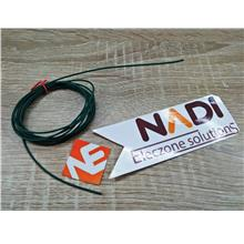 Green 2 Meter Multicore Copper Wire AWG-24