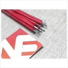 10pcs Red Breadboard Jumper Cable Wires Set Tinned 60mm
