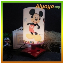 Cartoon Mickey Table Lamp Cute Lovely Design Desk Home Writing Study L