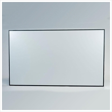 "Draper Profile+ 92"" Fixed Projector Screen Made In USA"