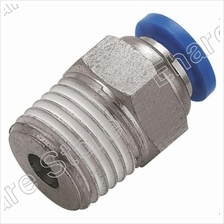 Push-in Fitting Male Connector (DQPC) (Open Stock)