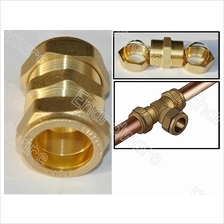 HEATER WATER LINE BRASS COMPRESSION FITTING FOR COPPER PIPE (BCF)