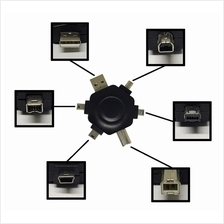 5 IN 1 HEXAGON USB ADAPTER