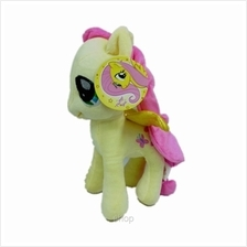 My Little Pony 25cm Flutter Shy Soft Toy Yellow (Licensed))