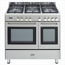 Delonghi Professional Gas Cooker Dreamline Series Stainless Steel - DMX-9623
