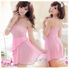 Women Princess Lace Baby doll Dress Lingerie A142