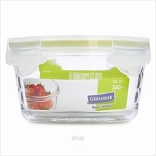Glasslock 360ml Round Food Container - MCCW-036