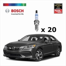 [Set of 20] Bosch Platinum Spark Plug for Honda Accord 2.0i K20A3 - 0242236614)