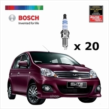 [Set of 20] Bosch Platinum Spark Plug for Perodua Viva 660i - 0242236618)