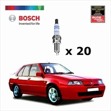 [Set of 20] Bosch Platinum Spark Plug for Proton Iswara 1.3 / 1.5 - 0242230599)