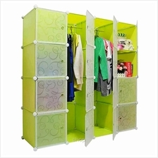Tupper Cabinet 16 Cubes Fruit Green DIY Wardrobe