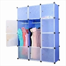 Tupper Cabinet 12 Cubes DIY Wardrobe Blue Water