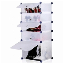 Tupper Cabinet 5 Tier 5 Cubes White Stripes DIY Shoe Rack