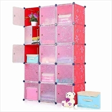 Tupper Cabinet DIY Storage Cabinet 15 Cubes Red Stripes