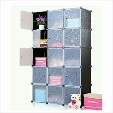 Tupper Cabinet 15 Cubes DIY Storage Cabinet Black Stripes