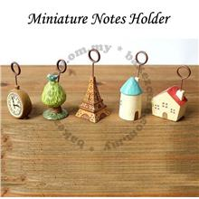 Miniature Notes Holder