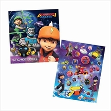 BOBOIBOY GALAXY STICKER BOOK WITH STICKER